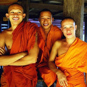 Monks Laos Tour Asian Horizons